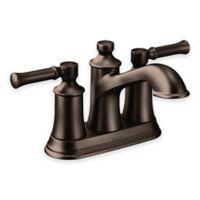 Moen® Dartmoor 2-Handle 4-Inch Centerset High Arc Bathroom Faucet in Oil Rubbed Bronze