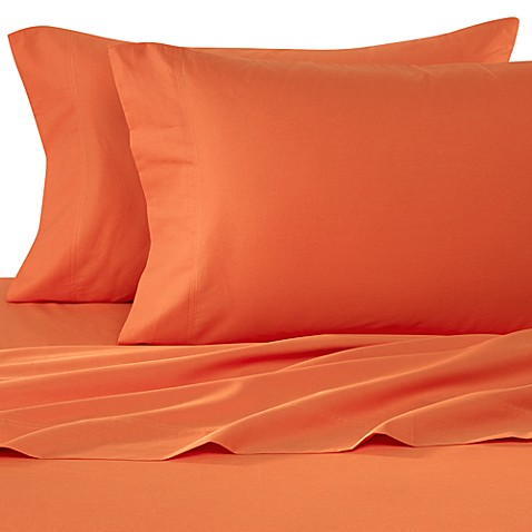 Colorful Dreams Twin Extra Long Sheet Set in Orange