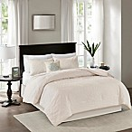Madison Park Quebec 5-Piece King Comforter Set in Ivory