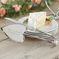 Laurels of Love Wedding Cake Knife & Server Set