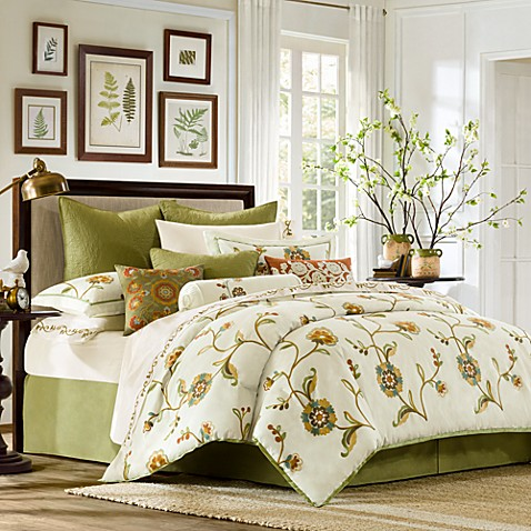 Harbor house amber comforter set bed bath beyond - Bed bath and beyond bedroom furniture ...