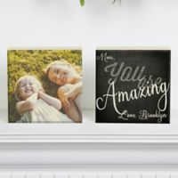 You Are… Photo Shelf Blocks (Set of 2)