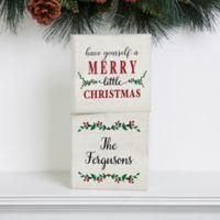 Merry Christmas Shelf Blocks (Set of 2)
