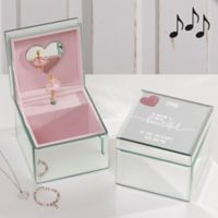 Her Heart Ballerina Musical Jewelry Box