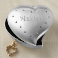 Shining Heart Jewelry Box