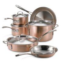 Calphalon® Tri-Ply Copper 10-Piece Cookware Set