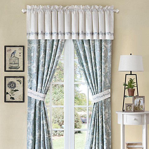 Harbor House Chelsea Paisley Window Valance