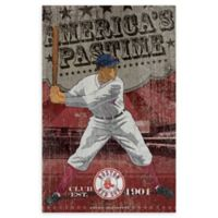 MLB Boston Red Sox Vintage Wall Art