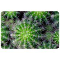 "FoFlor Cactus Jack 25"" x 60"" Kitchen Mat in Green"