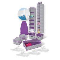 Back To College 30-Piece Storage Bundle Set in Multicolor