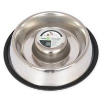 Iconic Pet Metallic Slow Feed 6-Cup Pet Bowl