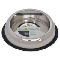 Iconic Pet Heavy Weight High Back 3-Cup Pet Bowls (Set of 2)