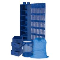 Honey-Can-Do® 8-Piece Room and Laundry Organizer in Blue