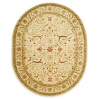 Safavieh Antiquity Lara 7'6 x 9'6 Oval Area Rug in Ivory