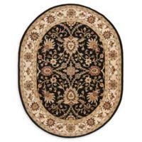 Safavieh Antiquity Olga 7'6 x 9'6 Oval Area Rug in Black