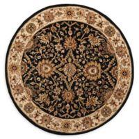 Safavieh Antiquity Olga 8' Round Area Rug in Black