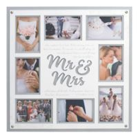 Malden® 8-Photo Mr and Mrs Collage Frame