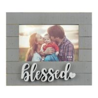 6-Inch x 4-Inch Blessed Sentiment Frame