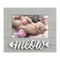 6-Inch x 4-Inch Meow Sentiment Frame