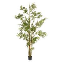 National Tree Company 6-Foot Artificial Japanese Bamboo Tree in Green