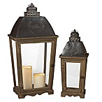 Gerson Antique Lanterns (Set of 2)