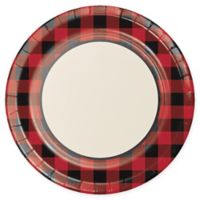 Creative Converting™ Disposable Buffalo Plaid Banquet Plates (Set of 24)