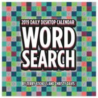 Word Search 2019 Daily Desktop Calendar