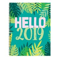 Hello 2019 Large Weekly/Monthly Planner