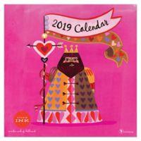 Studio Ink 12-Month 2019 Wall Calendar