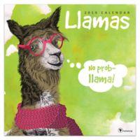 Llamas 2019 Wall Calendar
