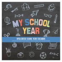 My School Year Open-Dated School Year Calendar