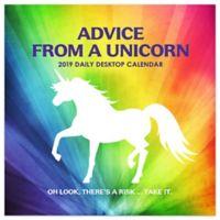 Advice From A Unicorn 2019 Daily Desktop Calendar