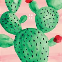 Cactus 2019 Large Monthly Planner