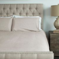 Cariloha® Queen Duvet Cover Set in Oatmeal