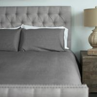 Cariloha® Queen Duvet Cover Set in Graphite