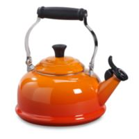 Le Creuset® Classic Whistling 1.8-qt Tea Kettle in Flame