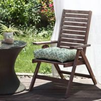 Waverly® Lexie Outdoor Dining Chair Cushion in Green