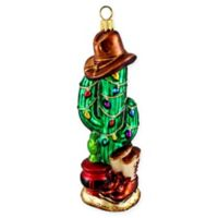 Joy To The World Collectibles O Cactus Tree Christmas Ornament