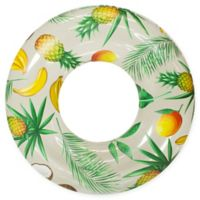 "Poolcandy 48"" Clear Tropical Fruit Pool Tube"