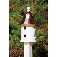 Bell Birdhouse with Copper Roof