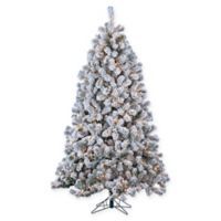 Gerson 7-Foot Montana Pine Pre-Lit Christmas Tree with Clear Lights