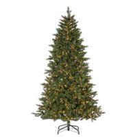 7.5-Foot Pre-Lit Lakeland Fir Pine Christmas Tree
