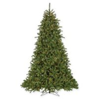 Sterling 9-Foot Pre-Lit Crystal Pine Christmas Tree