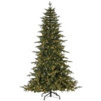 7.5-Foot Pre-Lit Rivera Pine Artificial Christmas Tree