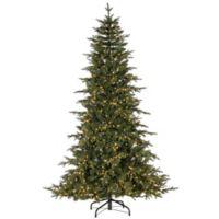 7.5-Foot Pre-Lit Rivera Pine Artificial Christmas Tree