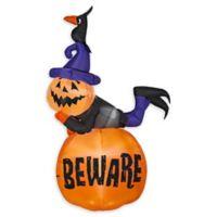 Inflatable Pumpkin Stack Outdoor Halloween Decoration