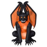Inflatable Sitting Gargoyle 8-Foot Outdoor Halloween Decoration