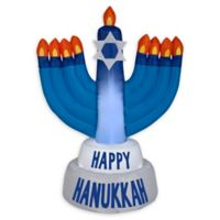 Inflatable Hanukkah Candles 3.5-Foot Outdoor Holiday Decoration