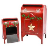 Gerson Nested Holiday Mail Boxes (Set of 2)