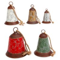 Gerson Metal Holiday Bells (Set of 5)
